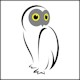 DOPE--Owl--80x80--border