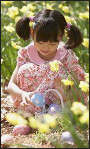 asian-girl-easter-egg-hunt-flowers-richardstep