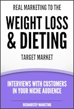 Cover -- 08 - Real Marketing to Weight Loss & Dieting - 2a - 150x220